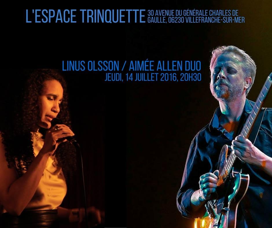 Aiméé ALLEN et LINUS OLSSON 19/08/2017