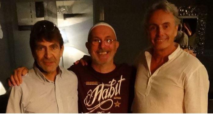 trio smiles: PEILLON, PERSI, DANNA...