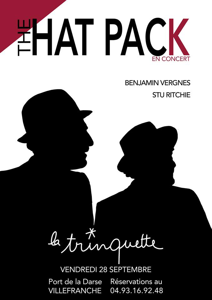 THE HAT PACK Benjamin VERGNES et STU RITCHIE