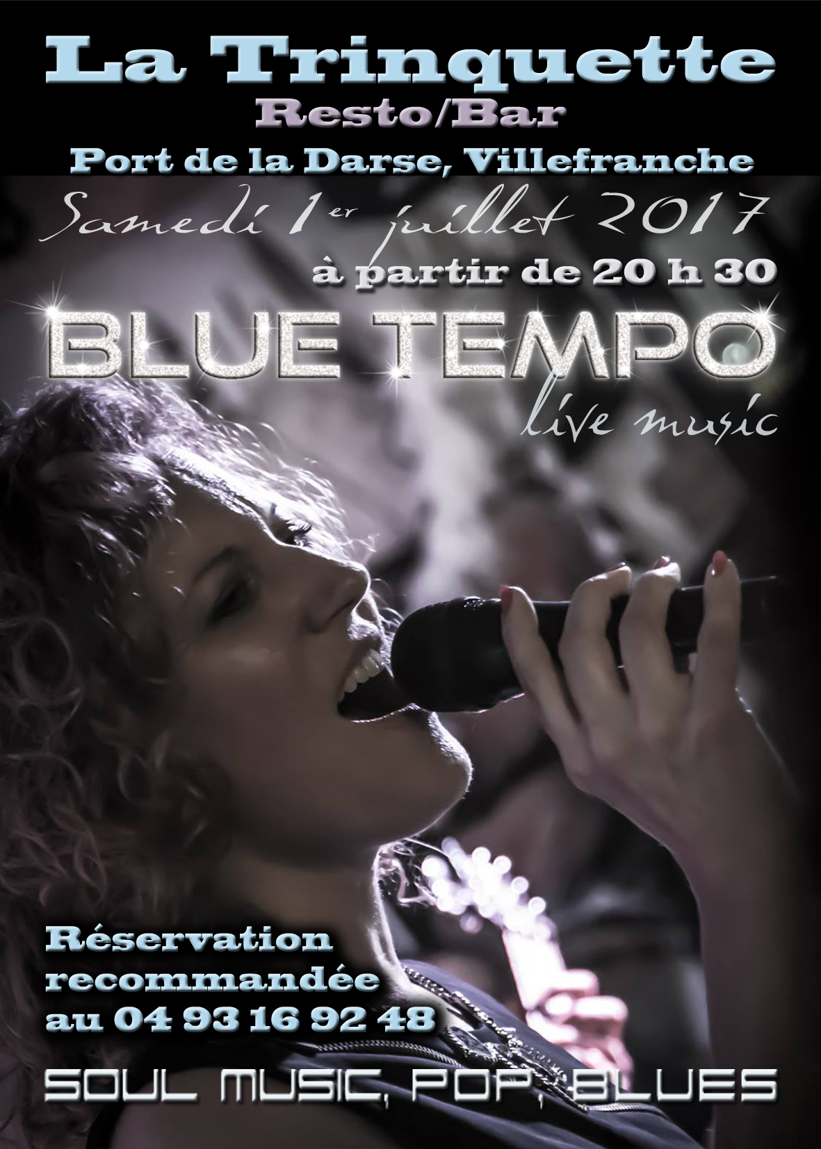 Blue tempo: soul music, pop, blues