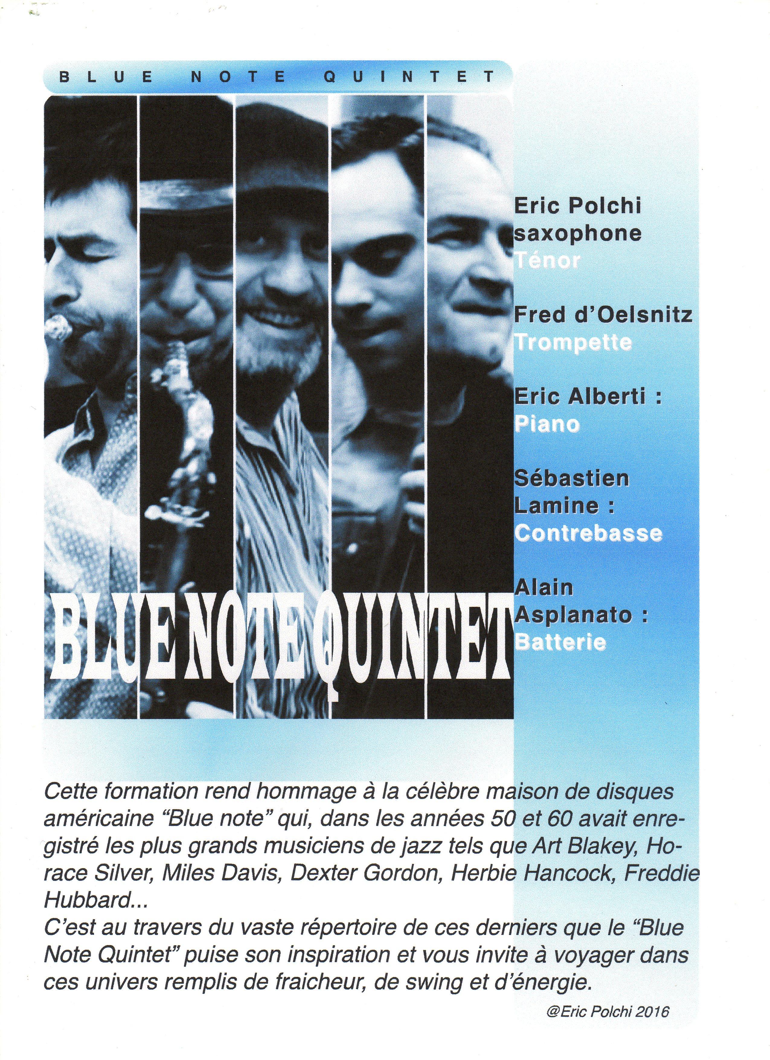 quintet blue note