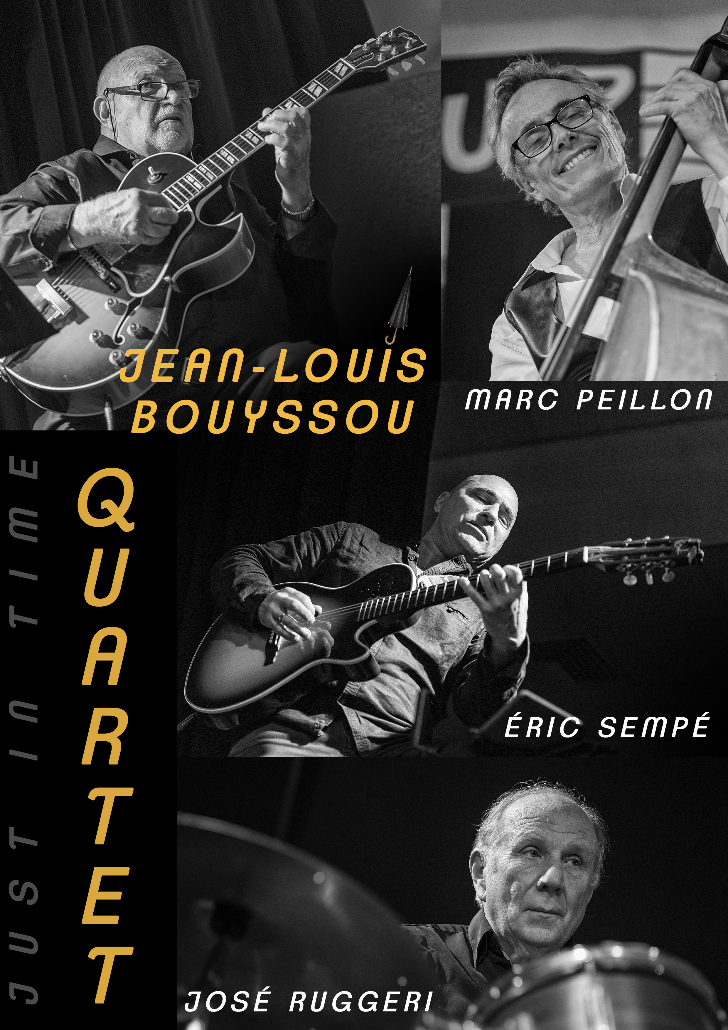 Jean Louis BOUYSSOU en quartet