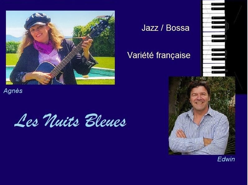 NUITS BLEUES Jazz, Bossa et variété française
